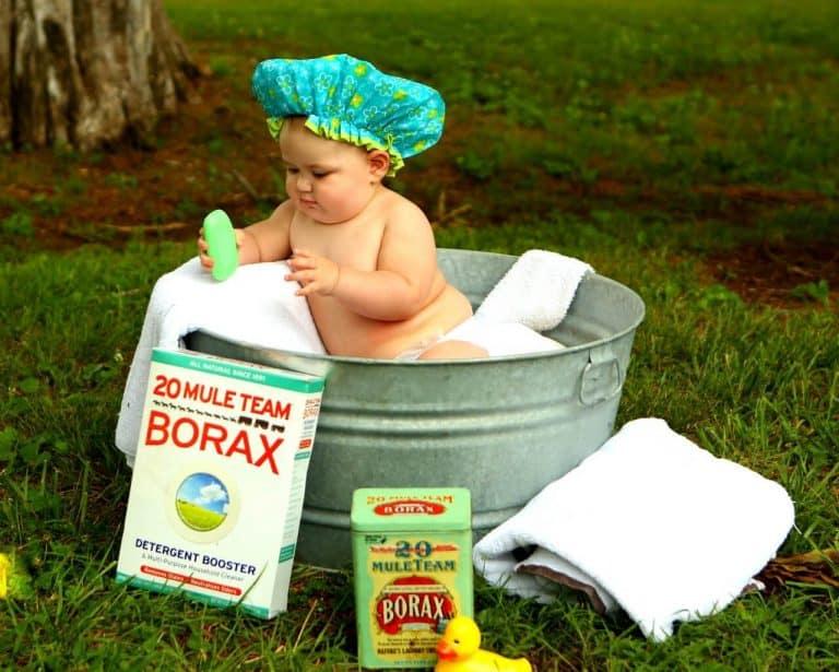 Eine Vintage Babywanne