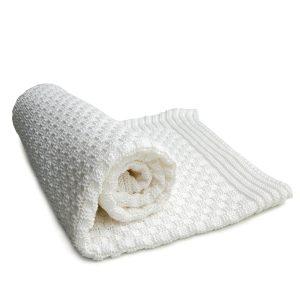 Materialien von Babydecken