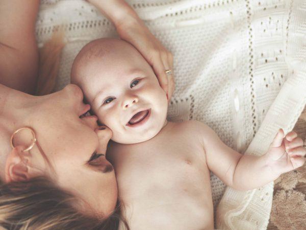 Baby Fotoshooting Bett