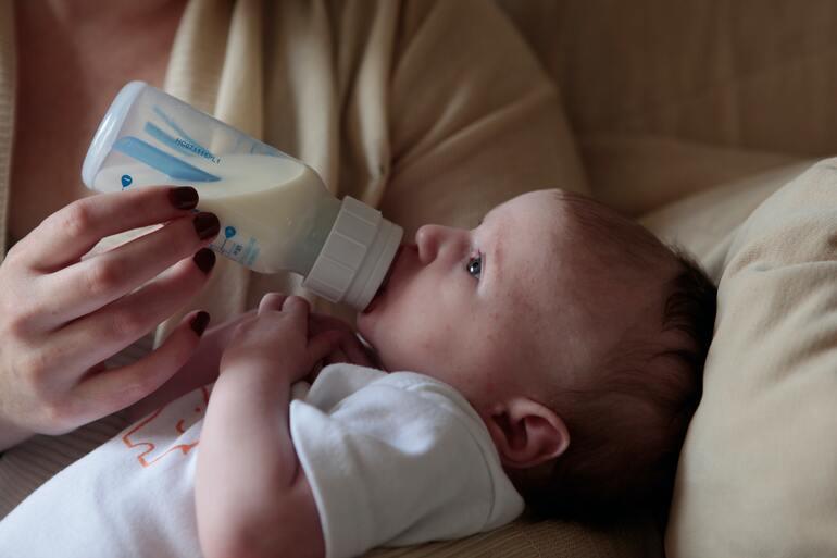 3 Monate altes Baby