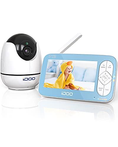 iDOO Babyphone mit Kamera, echtes 5