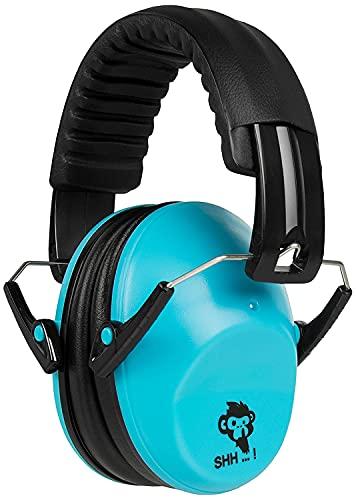 ACE SHH...! Kinder-Kapselgehörschutz - Gehörschützer mit SNR 26 dB - EN 352-2 - Gehörschutz ab 2 Jahren - Blau