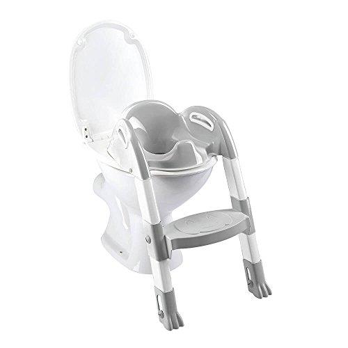 Thermobaby 2172587ALL Kiddyloo Toiletten-Trainer, weiß/grau